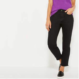 Joe Fresh Women's Dark Wash High Rise Ankle Jeans, Dark Wash (Size 32)