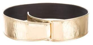 Chanel Metallic Leather Belt