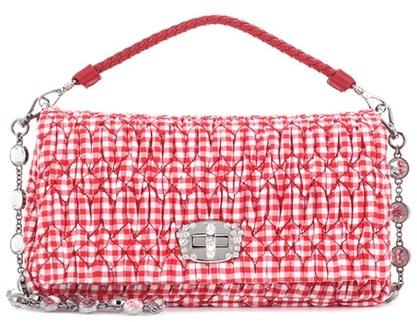 Miu MiuMiu Miu Cotton shoulder bag