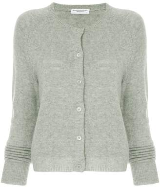 Majestic Filatures button fitted cardigan