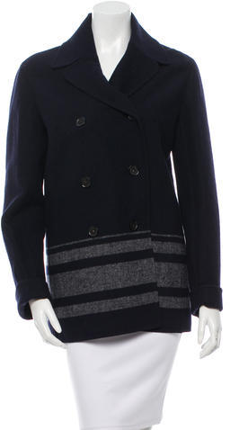 CelineCéline Wool Short Coat