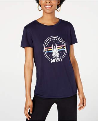 Freeze 24-7 Juniors' Nasa T-Shirt