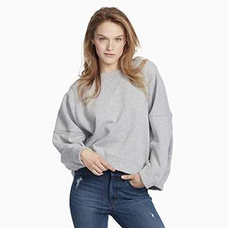 Ella Moss Women's Samantha Boxy Crop Pullover