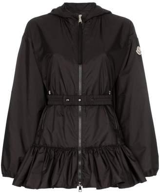 Moncler tbilisi frill hem hoodie jacket