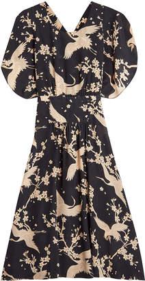 N°21 N21 Printed Silk Dress