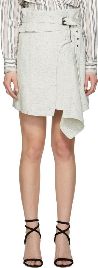 Isabel MarantIsabel Marant White Eydie Miniskirt