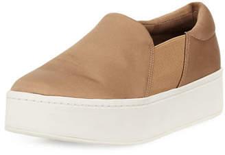 Vince Warren Satin Platform Sneakers
