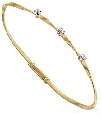 Marco Bicego Marrakech Bracelet in 18K Yellow Gold with Diamonds