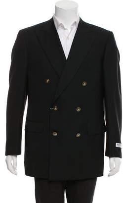 Pal Zileri Wool Double-Breasted Blazer w/ Tags