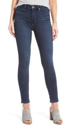 Paige Transcend - Hoxton High Waist Ankle Skinny Jeans
