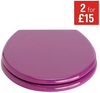 ColourMatch Toilet Seat - Grape