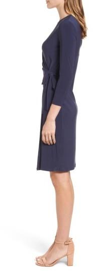 Women's Anne Klein Jersey Faux Wrap Dress 5