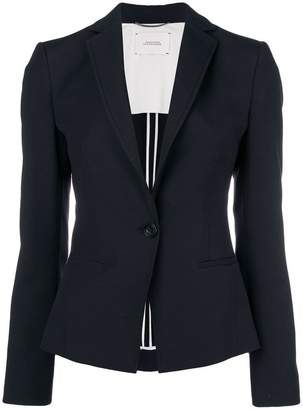 Schumacher Dorothee fitted single-breasted jacket