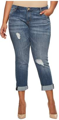 KUT from the Kloth Plus Size Catherine Boyfriend in Maintain Women's Jeans