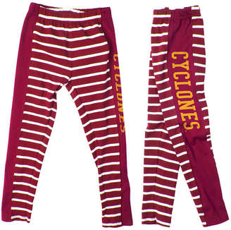 NCAA Authentic Apparel Iowa State Cyclones Striped Leggings, Toddler Girls (2T-4T)