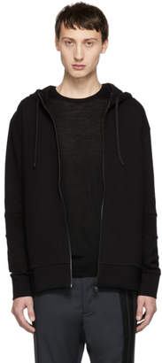 HUGO Black Deech Zip-Up Hoodie