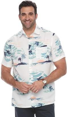 Croft & Barrow Big & Tall Regular-Fit Soft Touch Microfiber Button-Down Shirt
