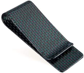 Christian Louboutin CABRONLIFE Carbon Fiber Glossy Money Clip CARBONLIFE® Credit Card Holder M