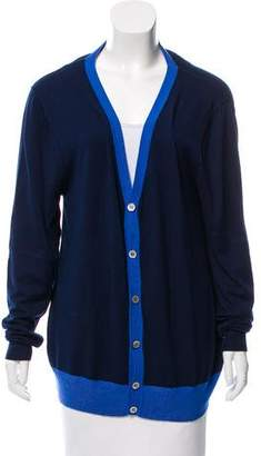 Azzaro Knit Button-Up Cardigan