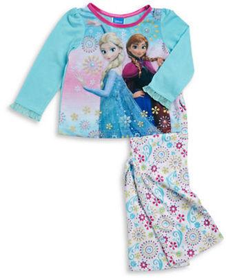 Ame Sleepwear Frozen Pajama Set $34 thestylecure.com