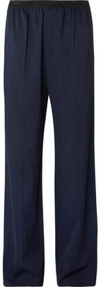 Balenciaga Wide-leg Woven Trousers - Navy