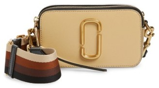 Marc Jacobs Snapshot Crossbody Bag - Beige $295 thestylecure.com
