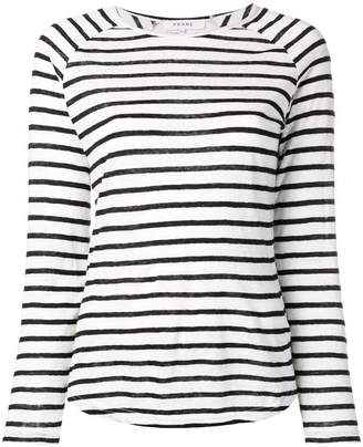 Frame longsleeved striped jumper