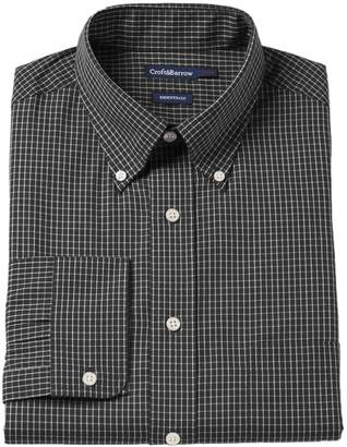 Croft & Barrow Men's Fitted Solid Easy Care Button-Down Collar Dress Shirt