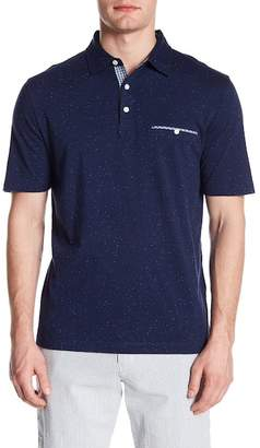 Thomas Dean Short Sleeve Knit Polo