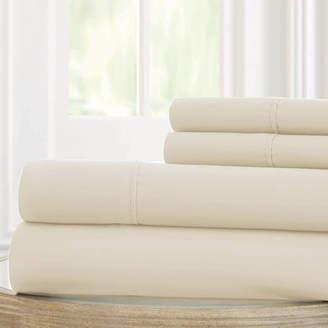 PACIFIC COAST TEXTILES Pacific Coast Textiles 100gsm Microfiber Easy Care Sheet Set