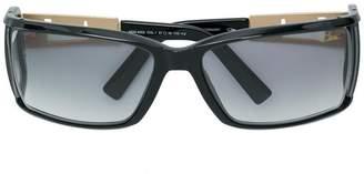 Cazal side shield rectangular sunglasses
