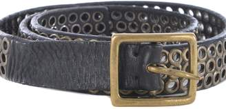 Golden Goose Perforated Belt