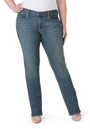 Levi's Women's Plus Modern Straight Jeans
