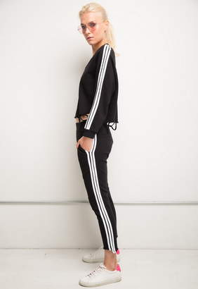 Generation Love Saskia Stripe Paneled Sweatpants