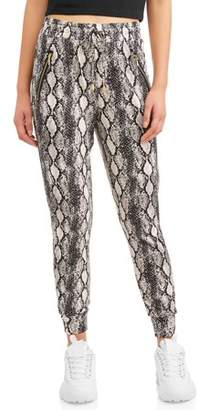 Eye Candy Juniors' Peached Zip Pocket Joggers