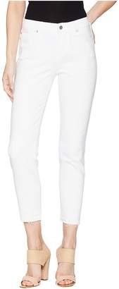 Liverpool Avery Crop in Comfort Stretch Denim in Atrium White Destruct Women's Jeans