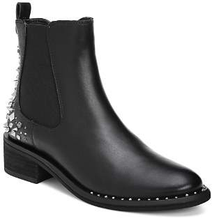 Sam Edelman Women's Dover Studded Back Leather Booties