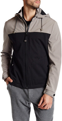 Kenneth Cole New York Colorblock Zip Front Jacket $180 thestylecure.com
