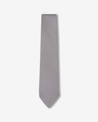 Express Narrow Striped Silk Tie