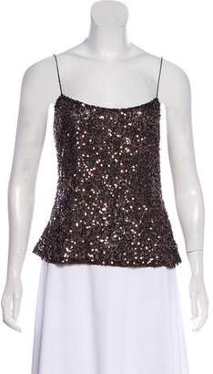 Ellen Tracy Sequin Sleeveless Top w/ Tags