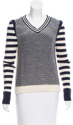 Tory BurchTory Burch V-Neck Knit Sweater