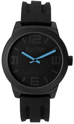 Kenneth Cole Reaction Men's Silicone Strap Watch, 48mm