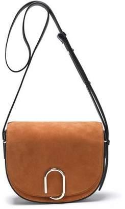 3.1 Phillip Lim Leather-Trimmed Suede Shoulder Bag