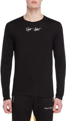 Night Addict Long Sleeve Logo Tee