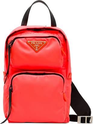 Prada Nylon one-shoulder backpack