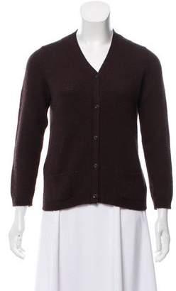 Prada Cashmere Knit Cardigan