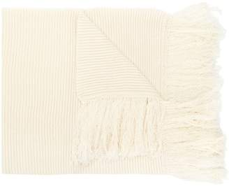 Golden Goose ribbed knit scarf