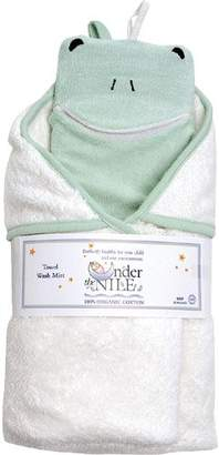 Under the Nile Organic Cotton Hooded Towel & Wash cloth - Frog