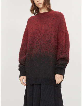 Isabel Benenato Fade brushed-knit jumper