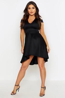 265495a82b boohoo Black Skater Cocktail Dresses - ShopStyle